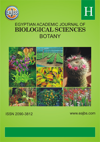 Egyptian Academic Journal of Biological Sciences, H. Botany